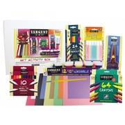 Sargent Art Inc 9 Piece Glitter and Paint Art Activity Box Set
