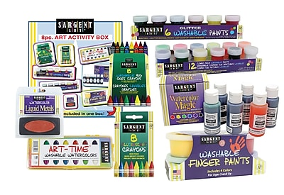 Sargent Art Inc 8 Piece Art Activity Set WYF078278887549