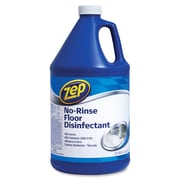 Zep Commercial® No-Rinse Floor Disinfectant, Unscented, 1 gal, Each (1041697)