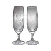 Creative Gifts International Medallion Champagne Flute Glass