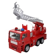 "Mota® Toy Small Fire Truck Engine with Adjustable Ladder, 5"" x 13"" x 8 1/2"", Red (MTTY-FE-3)"