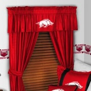 Sports Coverage NCAA 88'' Arkansas Razorbacks Curtain Valance