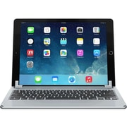 Brydge Air BRY1001 Aluminum Bluetooth Keyboard for iPad Air 1/2, Silver