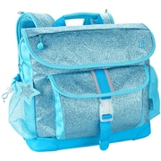 Bixbee® Sparkalicious Turquoise Polyester/Rubber Kids Glitter Backpack (303002)