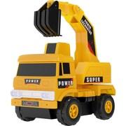 "Mota® Mini Construction Excavator Toy Truck, 16.7"" x 4.9"" x 16"", Yellow (MTTY-TT-1)"