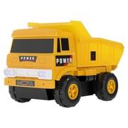 "Mota® Mini Construction Dump Toy Truck, 16.7"" x 4.9"" x 16"", Yellow (MTTY-TT-4)"