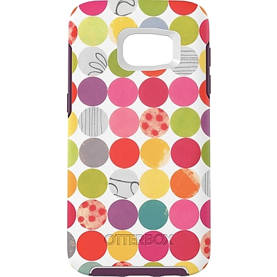 OtterBox Symmetry Series Graphics Case for Galaxy S7, Gumballs (77-53084)
