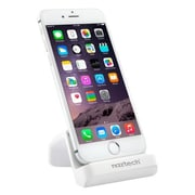 Naztech Charge & Sync Dock For I5/I6/Ipad Mini White Via Ergoguys