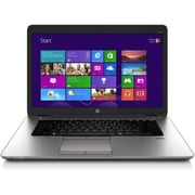 "HP® EliteBook 850 W5H68US 15.6"" Notebook, LCD, Intel i5-6300U, 128GB SSD, 8GB RAM, Windows 7 Pro, Silver"