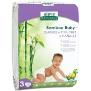 Aleva Naturals® Bamboo Baby® Diapers, Size 3, 28 Count (37848)