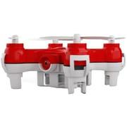 "Mota® Jetjat Nano-C Camera and Video Toy Drone, 2.4"" x 2.4"" x 0.79"", Red (JJ-NANC)"