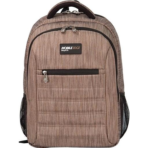 Mobile Edge Laptop Backpack, Wheat Nylon (MEBPSP8)