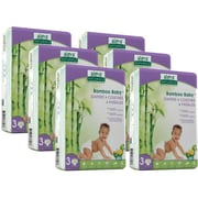 Aleva Naturals® Bamboo Baby® Diapers, Size 3, 168 Count (37850)