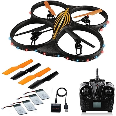 Akaso 4 Channel 6-Axis Gyro RC Quadcopter Bundle (K88)