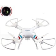 Akaso 4.5 Channel 2.4 GHz 6-Axis Gyro RC Quadcopter Toy Drone (X8C)