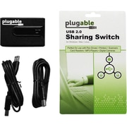 Plugable® USB2-SWITCH2 2-Port USB 2.0 Sharing Switch for PC/Mac/Linux