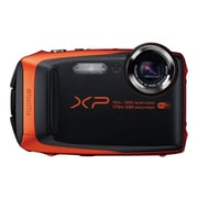 Fujifilm FinePix XP90 16.4 MP Compact Digital Camera, 5x Optical Zoom, f=5.0mm - 25.0mm, Orange