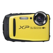 Fujifilm FinePix XP90 16.4 MP Compact Camera, 5x, f=5.0mm - 25.0mm, Yellow