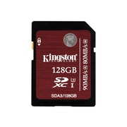 Kingston® SDA3/128GB Class 10/UHS-I (U3) 128GB SDXC Memory Card