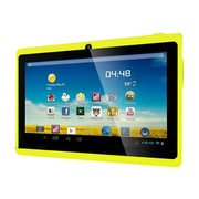 "Worryfree Gadgets® 7DRK-Q 7"" Tablet, 4GB, Android 4.4 KitKat, Yellow"