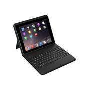 Zagg® ID6BSF-BB0 Fabric Messenger Folio Keyboard Case for iPad Air 2, Black