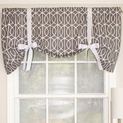 RLF Home Sequence Tie-Up 50'' Curtain Valance