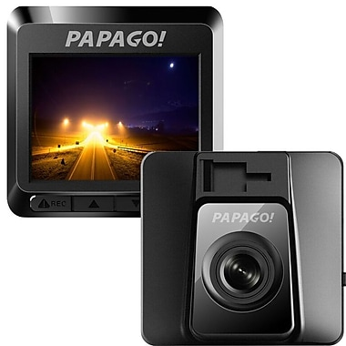 PAPAGO! - Caméra pour tableau de bord GoSafe 388 Mini, HD intégrale 1080P avec vision nocturne (GS3888G)