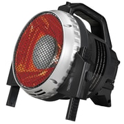 Duraflame Portable Electric Durable Infrared Utility Heater, Black  (SH-J12)