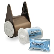 Tidymates® ALL-IN-ONE TOILET PAPER AND FLUSHABLE WIPES SYSTEM Starter Set - Old Bronze (DC-B12)