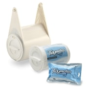 Tidymates® ALL-IN-ONE TOILET PAPER AND FLUSHABLE WIPES SYSTEM  Starter Set - Pearl (DC-B13)