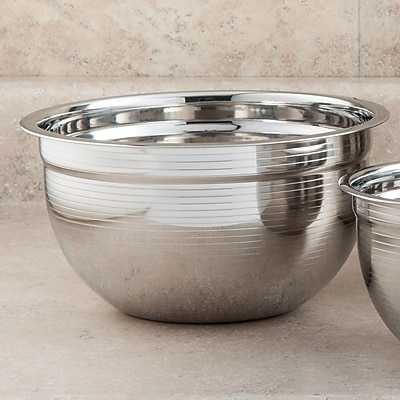 Cook Pro Stainless Steel Mixing Bowl; 3.5