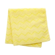 "Rubbermaid HYGEN™ Microfiber All-Purpose Cleaning Wiping Cloths, Yellow, 16"", 12/Pack"