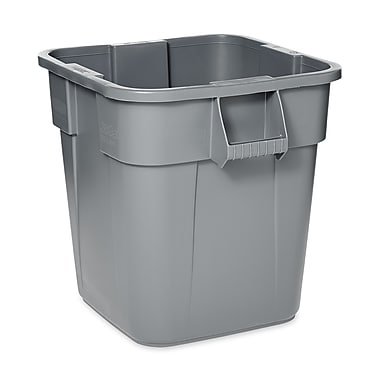 Rubbermaid® Square Brute® Container, 28 gal.