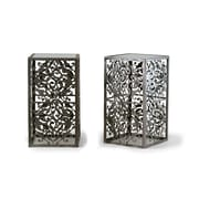 Glamour Home Decor Abrielle End Table (Set of 2)
