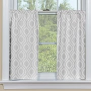 Contempo Curtains Ogee Petite Tier Curtain (Set of 2); 36'' H x 48'' W