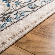 Well Woven Sydney Florence Traditional Ivory Area Rug; 5'3'' x 7'3''