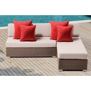 Ove Decors Leads 2 Piece Lounge Seating Group w/ Cushion