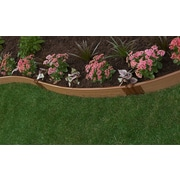 Frame It All Landscape Edging Curved Kit; 6'' H x 384'' W x 1'' D