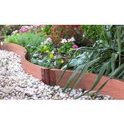 Frame It All Landscape Edging Curved Kit; 6'' H x 384'' W x 2'' D