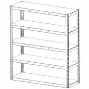 Tennsco Die Rack Shelving Units; 72'' x 24'' x 84''