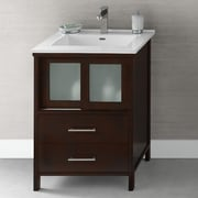 Ronbow Minerva 23'' Bathroom Vanity Base Cabinet in Dark Cherry