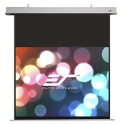 Elite Screens Evanesce White Electric Projection Screen; 52.0'' H x 92.4'' W