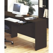 Wildon Home   600 Series 29.5'' H x 47.25'' W Reversible Desk Return; Coffee