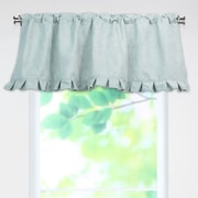 Brite Ideas Living Victory Lane Surf Pleated 52 inch Curtain Valance