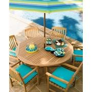 Oxford Garden Round Dining Table; 47.25'' L x 47.25'' W