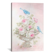 iCanvas Sweet Rose Song Painting Print on Canvas; 40'' H x 26'' W x 1.5'' D
