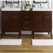 Ronbow Venus 23'' Bathroom Vanity Base Cabinet in Dark Cherry