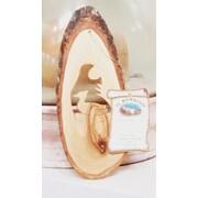 EarthwoodLLC Olive Wood Ornament w/ Quail