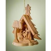 EarthwoodLLC Olive Wood Tree Large Shaped Grotto Ornament