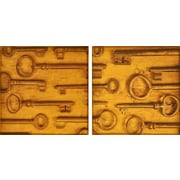 Empire Art Direct ''Antique Keys'' 2 Piece Photographic Print Set on Canvas